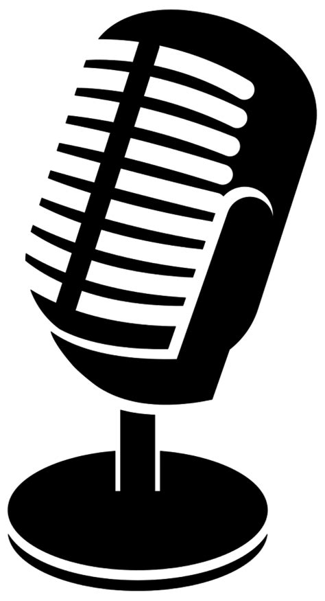 14200 microphone icon png podcasting tech talk
