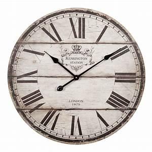 Horloge Murale Maison Du Monde : horloge d 60 cm trianon maisons du monde ~ Teatrodelosmanantiales.com Idées de Décoration
