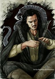 Luke Evans Dracula Art