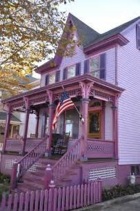 Purple Victorian Home in Cape May