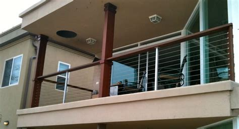 Modern Balcony Cable Rail