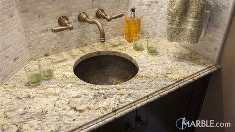 colonial granite bathroom vanity