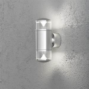 Wandleuchte Up Down : wandleuchte aus aluminium up and down wohnlicht ~ Orissabook.com Haus und Dekorationen