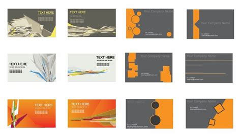 Set Of Business Cards Vector Sample Business Plan History Of Coffee Shop For Yogurt Production Letter Termination Example With Re Line In Excel Youtube Channel Organizational Structure
