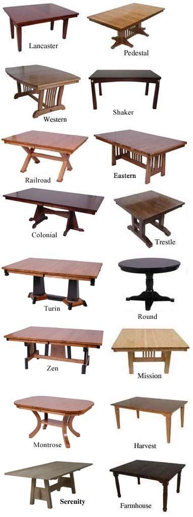 different types of kitchen tables guide to tables