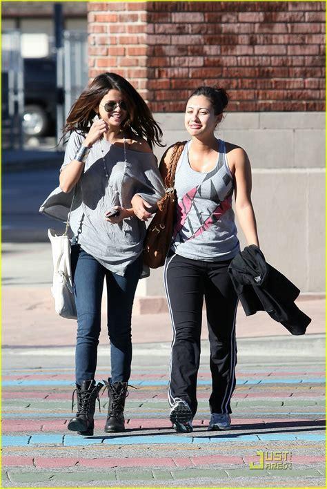 Selena Gomez & Francia Raisa Hit Up Panera Bread | Cup Of ...