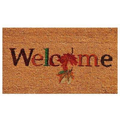 Autumn Doormat by Fall Doormats Fall Decorations The Home Depot