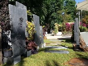 Palis et piquets d39ardoise infercoa pour le jardin a part for Modeles jardins avec galets 7 5 facons de mettre en scane les graminees detente jardin