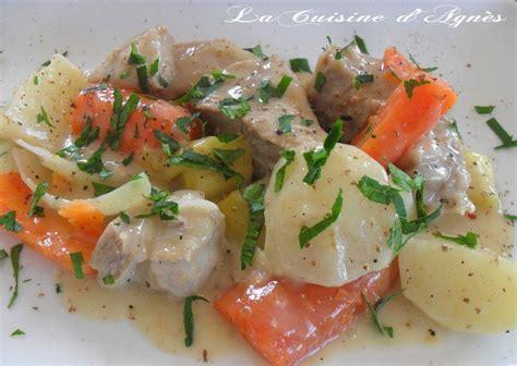 recette de cuisine gastronomique la blanquette de veau à l 39 ancienne de paul bocuse la