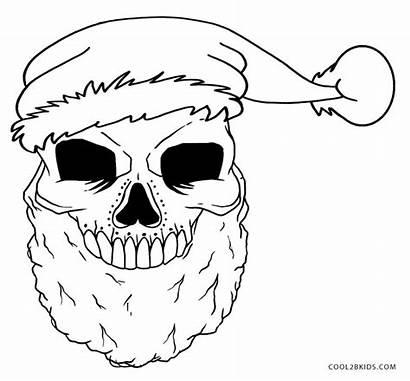 Skull Coloring Pages Skulls Printable Adult Sugar