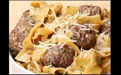 voici une recette de p 226 te rapide avec des boulettes de viande vite fait et savoureux