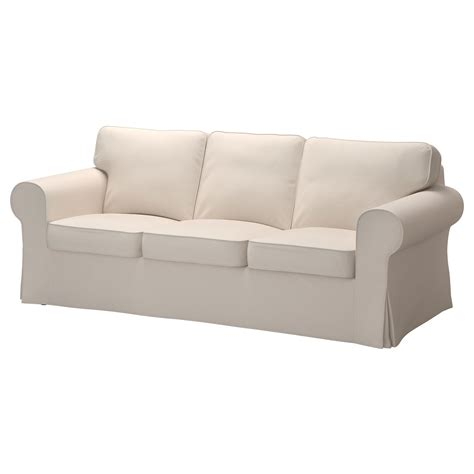 ikea couch sofa ektorp three seat sofa lofallet beige ikea