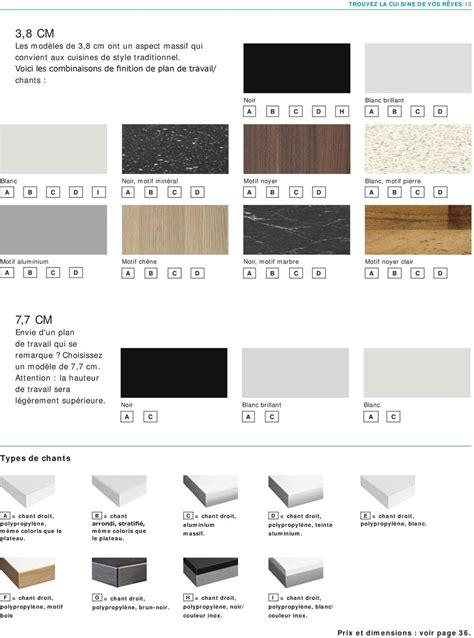 profondeur standard plan de travail cuisine hauteur plan de travail cuisine standard hauteur standard