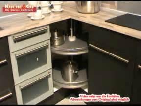 eckunterschrank küche küche co eckunterschrank karussell wmv