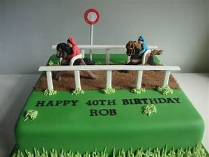 Horse Racing Cake - Celebration Cakes - Cakeology