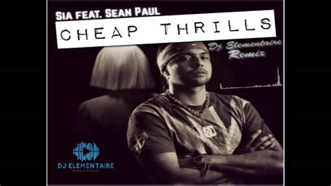 Cheap Thrills Ft. Sean Paul ( Dj Elementaire Remix