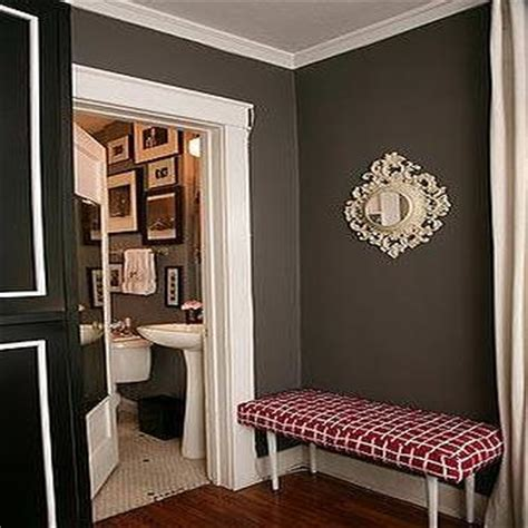 chocolate brown walls design decor  pictures