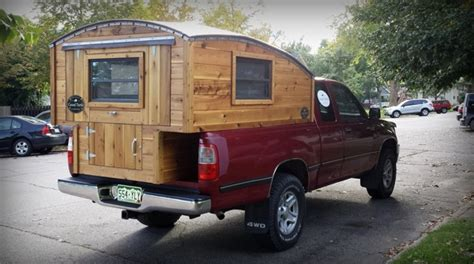 Handmade Micro Truck Bed Camper For 00