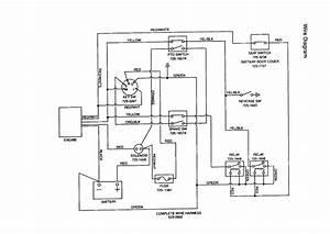Huskee Mower Wiring Diagram