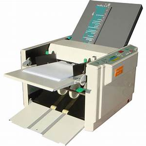 dynafold model de 370 paper folder With document counter machine