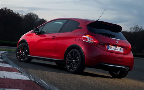 Peugeot 208 Wallpapers by 2014 Peugeot 208 Gti 30th Anniversary Wallpapers And Hd