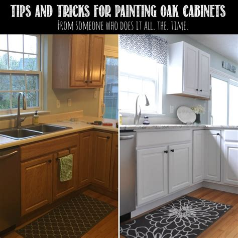 updating oak kitchen cabinets before and after tips tricks for painting oak cabinets painted oak