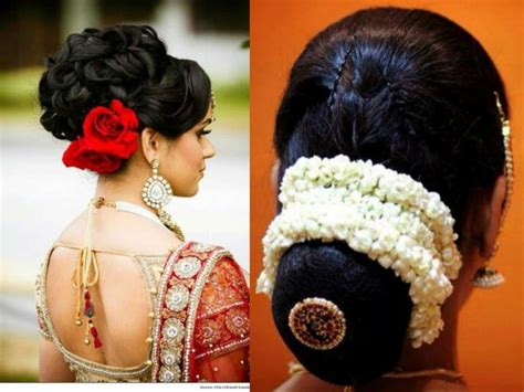Wedding Hairstyles For Girls : Inspiring 15 Indian Bridal Hairstyles