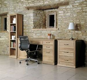 Buy Baumhaus Mobel Oak Printer Cupboard Online CFS UK