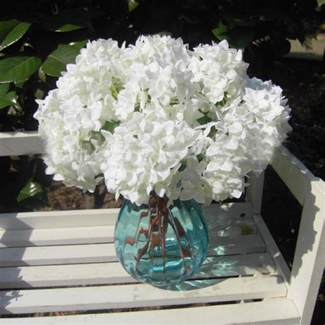 Centerpiece Bridal Hydrangea Decorative Wedding Single