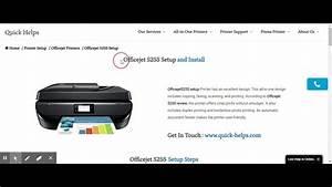 Offset 5255 First Time Printer Setup