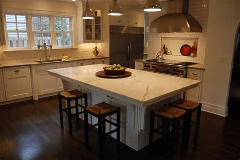 Resplendent Kitchen Island With Overhang On Two Sides Also