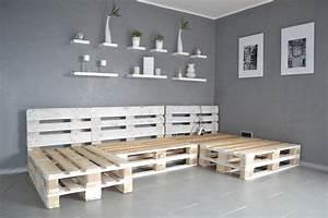 Gestaltung Mit Paletten : paletten sofa selber bauen wirklich so einfach ~ Whattoseeinmadrid.com Haus und Dekorationen