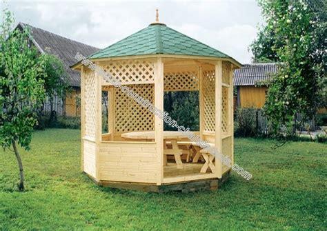 kiosque en bois trait 233 autoclave aix livr 233 gratuitement en kit