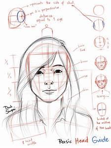 Basic Head Guide By Jamesnidea On Deviantart