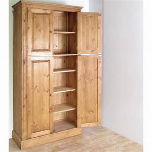 Solid Pine Pantry Cupboard Furniture4YourHome