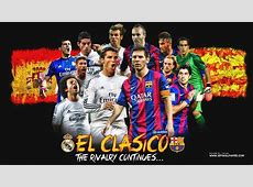 REAL MADRID VS FC BARCELONA WALLPAPERS by jafarjeef on
