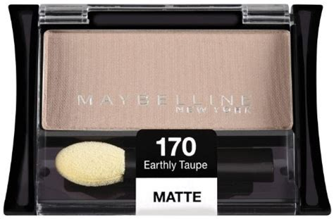 maybelline  york expert wear eyeshadow singles earthly