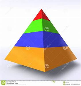 Hierarchy Pyramid Stock Illustration  Illustration Of