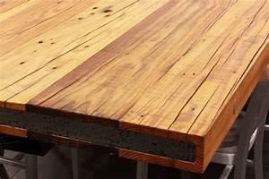 Reclaimed Wood Countertops - J Aaron