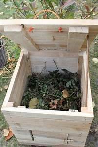 Fabriquer Un Potager Surélevé En Bois : fabriquer son composteur ~ Melissatoandfro.com Idées de Décoration