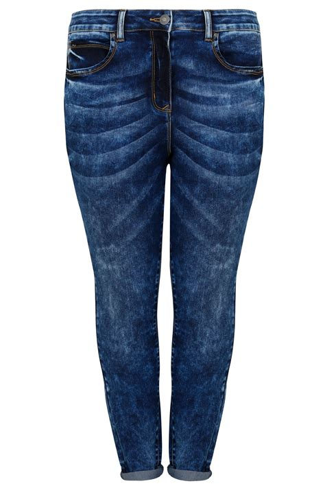 Limited Collection Khaki Distressed Skinny Jeans Plus Size 16 To 36 - limited collection blue acid wash skinny jeans plus size 16 to 32
