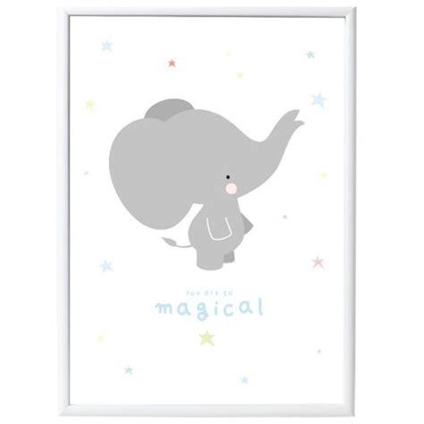 poster chambre bébé poster bébé elephant gris déco chambre bébé bebe cadeau ch