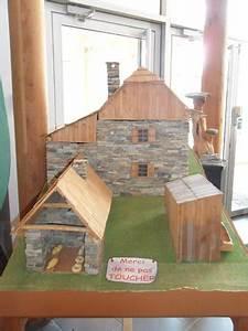 maquette d39un village photo de maison du bois meolans With maquette d une maison 9 puitcanadien