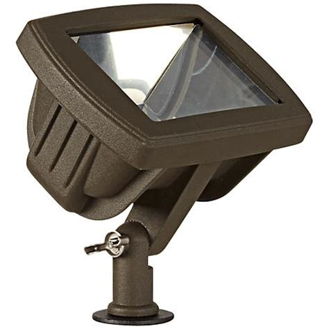 bronze low voltage led landscape flood light 2c479
