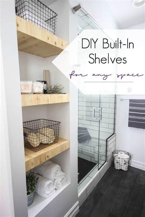 Badezimmer Regal Dekorieren by 25 Brilliant Built In Badezimmer Regal Und Storage Ideen