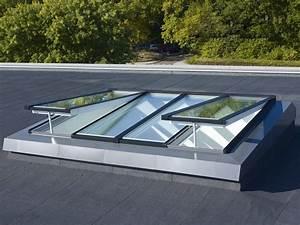 Rehausse Velux Toit Faible Pente : le groupe velux r invente le concept de verri re pour l habitat en toit plat ~ Nature-et-papiers.com Idées de Décoration