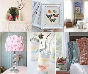 10, Stunning, Diy, Shabby, Chic, Home, Decor, Projects