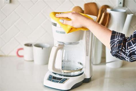They also need to be deep cleaned monthly to remove hard water. How to Clean a Coffee Maker Without Vinegar | House Cleaning Tip