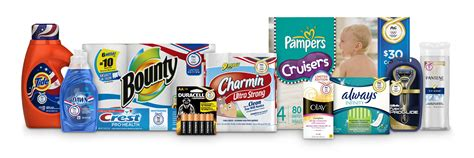 Procter and Gamble Products 2017