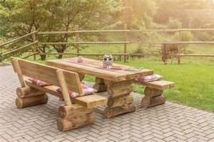 Gartenmöbel Holz Massiv : gartenm bel holz rustikal ~ Indierocktalk.com Haus und Dekorationen